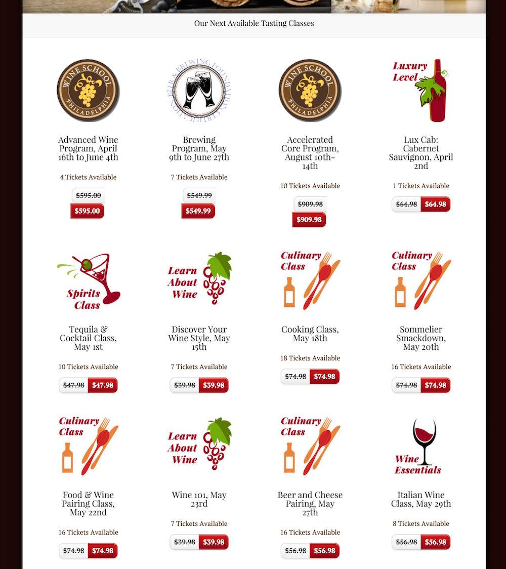 showcase - wine school - home page 2