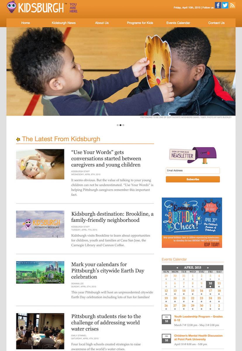 showcase - kidsburgh - home page