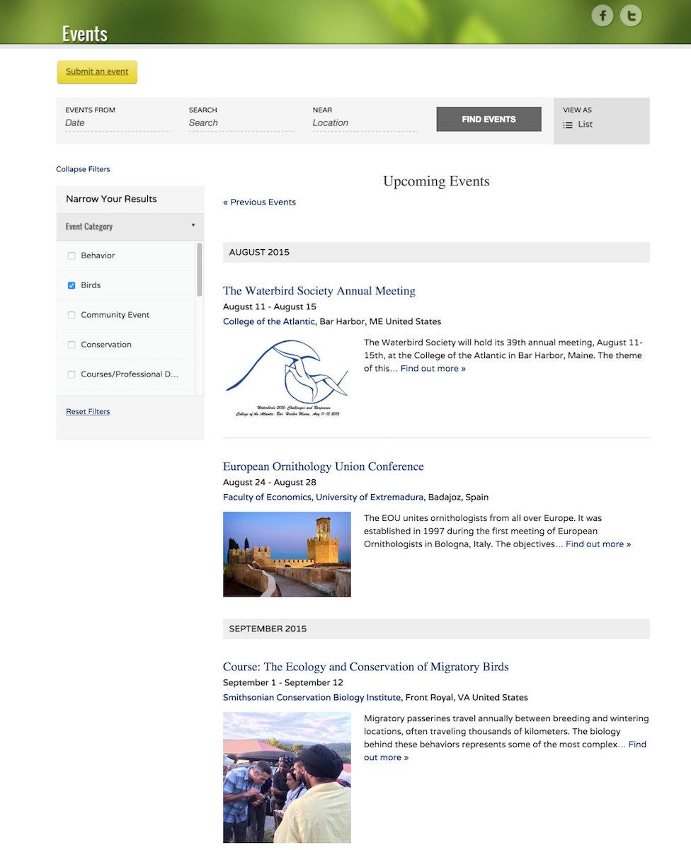 showcase - MCP - list view filter