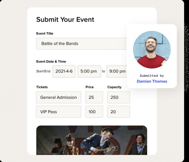 Boost ticket sales by crowdsourcing