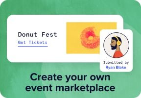 Create your own event marketplace.