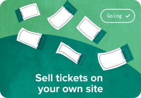 Sell tickets on your own site