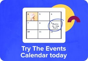 Try The Events Calendar today