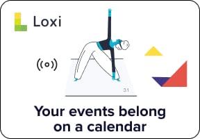 Your events belong on a calendar.