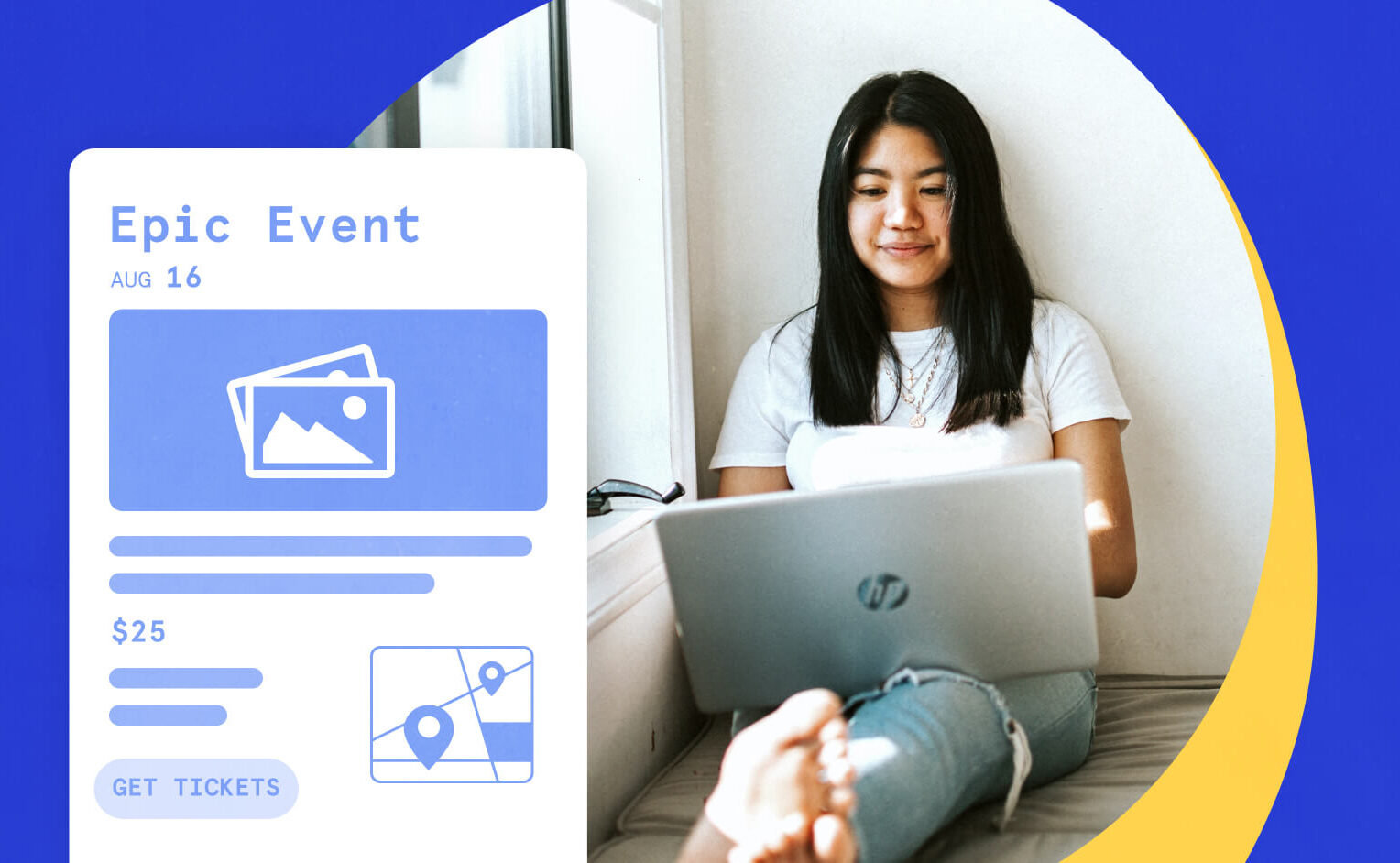 WordPress Event Page Template